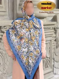 روسری کرپ نخ کد 110