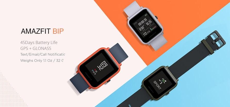 ساعت هوشمند شیائومی مدل Amazfit Bip نسخه گلوبال
